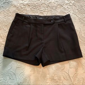"J.CREW BLACK WOOL 3"" SHORTS SIZE 2"